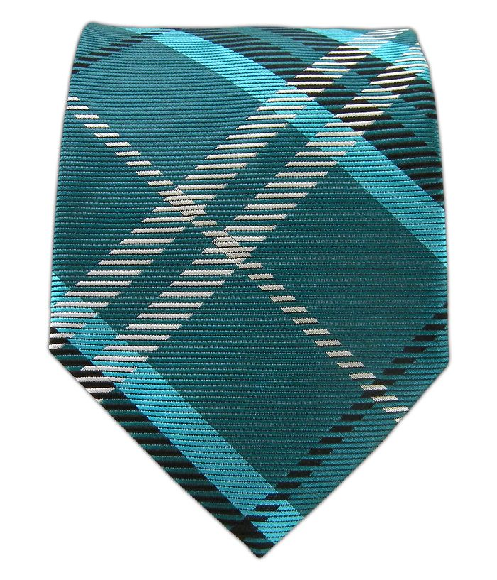 Gent Plaid - Teal | Ties, Bow Ties, and Pocket Squares | The Tie Bar