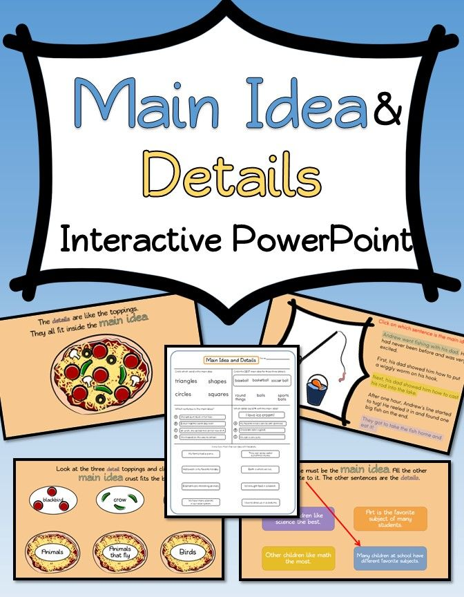 25 best Interactive PowerPoints (Reading Comprehension) images on ...