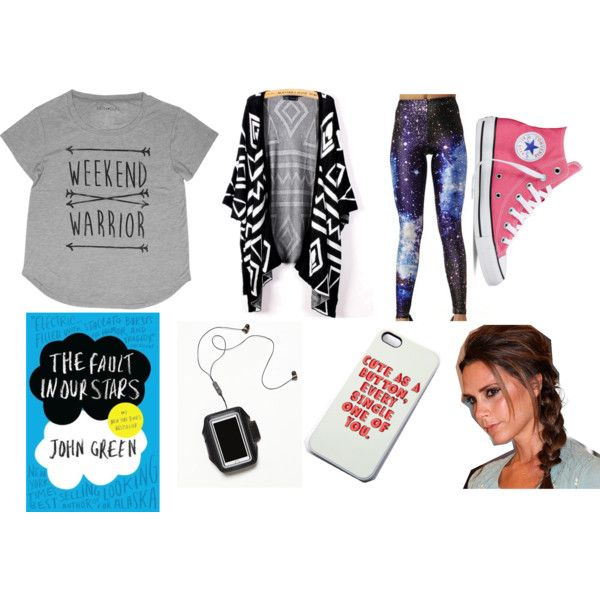 Car Trip Essentials by matisse-davies on Polyvore featuring Converse, Free People and Victoria Beckham