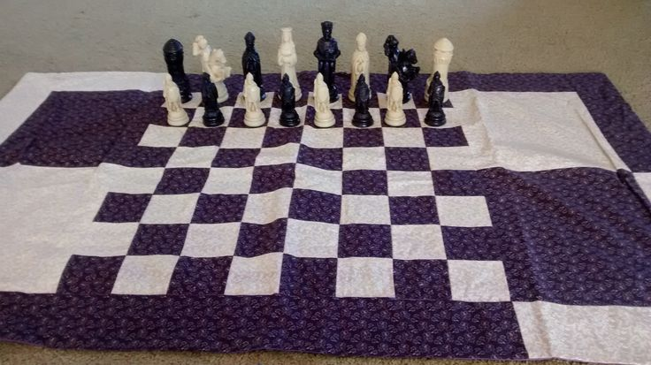 chess board#3 i don't love patchwork