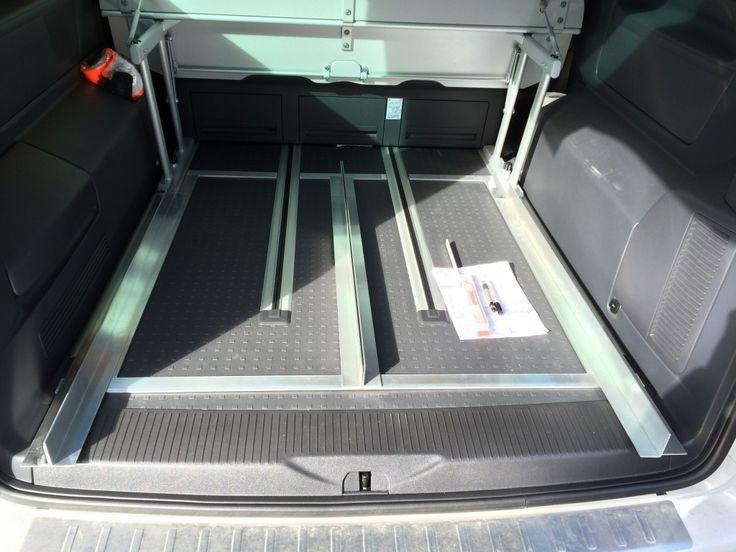 Heckauszug VW T5 California Multivan Vorbereitung 02