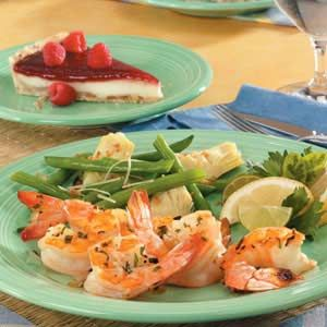 "Onion Tarragon Shrimp Recipe -""I've been making this recipe for more than 10 years and it is the sole reason that I grow my own tarragon,"" Linda Lacek comments from Winter Park, Florida."