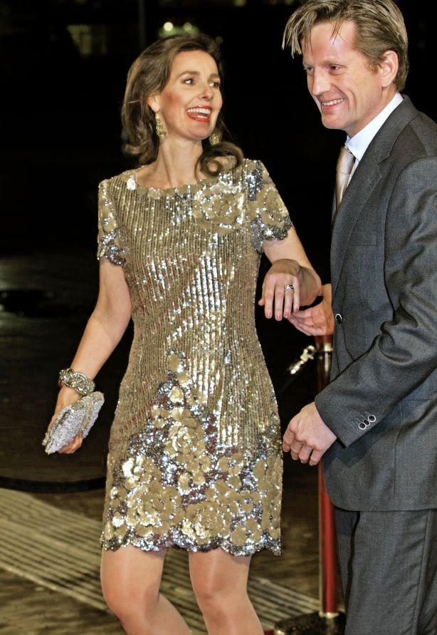 koninklijkhuis: Dutch Royal Family Celebrates Pieter Van Vollenhoven's 75th birthday, December 8, 2014-Prince Pieter-Christiaan and Princess Anita
