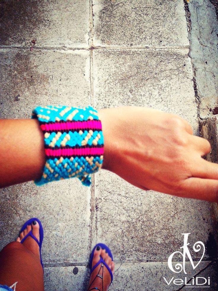 HandMade Greek Knotted / Friendship Bracelet  - Ελληνικά Χειροποίητα Βραχιόλια