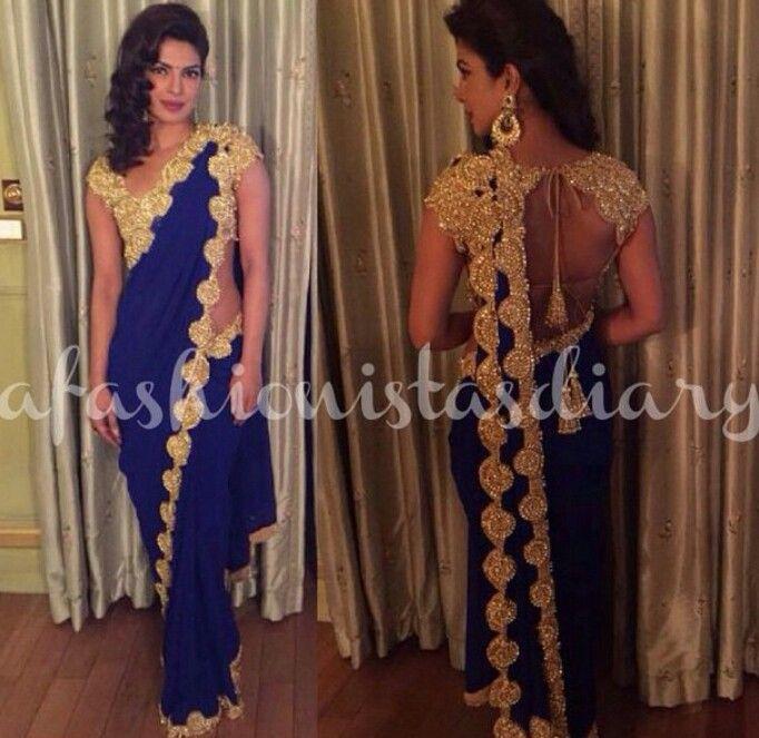 Priyanka Chopra in Abu jani and Sandeep Khosla for Arpita Khans wedding