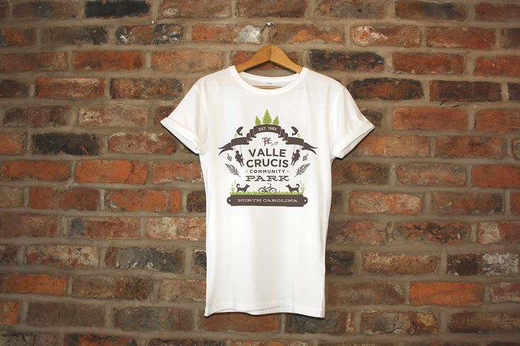 T-Shirt Design for the Valle Crucis Community Park by Snow in July Designs