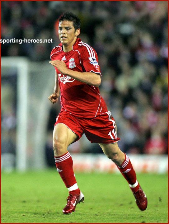 Mark Gonzalez - Liverpool.