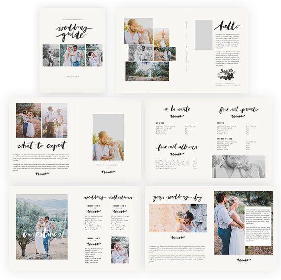 17 best welcome kit wedding images on Pinterest Appliques, Bride - sample wedding brochure