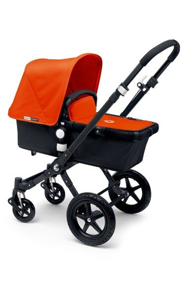 Infant Bugaboo 'Cameleon³' Tailored Fabric Set with Extendable Canopy - Orange