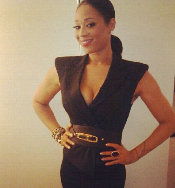 mimi faust | Mimi Faust looked amazing as she prepared to step out for a night on ...