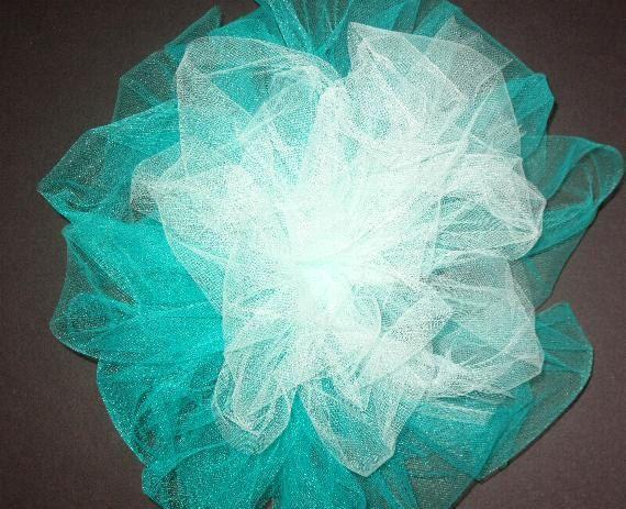 weddind bows, large tulle bows, chursch pew bows, wedding ceremony decor, shower decor, party decor, bacelorette party decor, wedding shower by SuspendedStar on Etsy