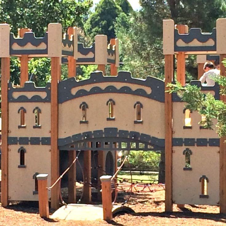 Berrima Park Castle climbing frame Southern Highlands NSW