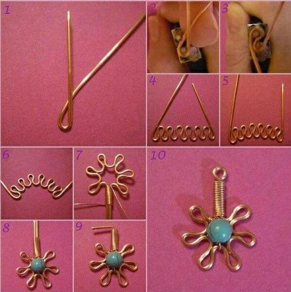 Wire bijoux collection byby creations Couture tutorial