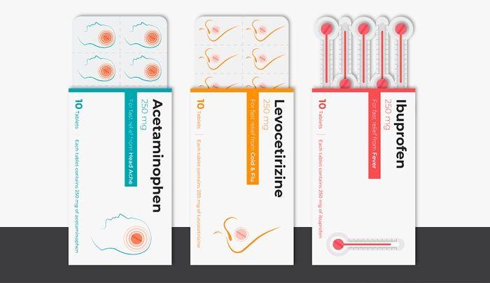 Estudiante Re Disena Cajas De Medicamentos Como Proyecto De Diseno Disenos De Unas Diseno De Caja Proyectos De Diseno