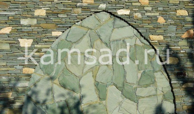 Зеленый кварцит – черноморский камень для орнамента и отделки фасадов