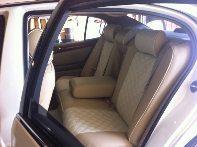 Clazzio Beige And Ivory Interior Vip Car Pics And Parts