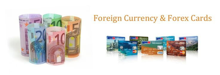 foreign currency and travel card