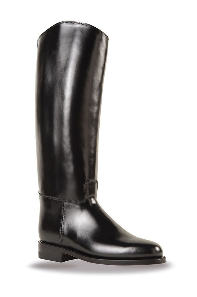Riding Boot Equestrian Boots Black Leather - Federica XRD™ - SixKa by 707  #SixKaby707TacticalGear #RidingEquestrian