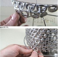 Like this tututorial, I can use this method for faking chainmail.  Great idea