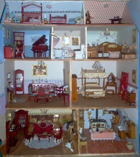 Oltre 25 fantastiche idee su case in miniatura su for Arredamento in miniatura