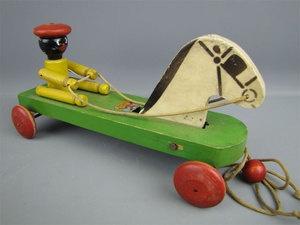 Hustler antique toys remarkable