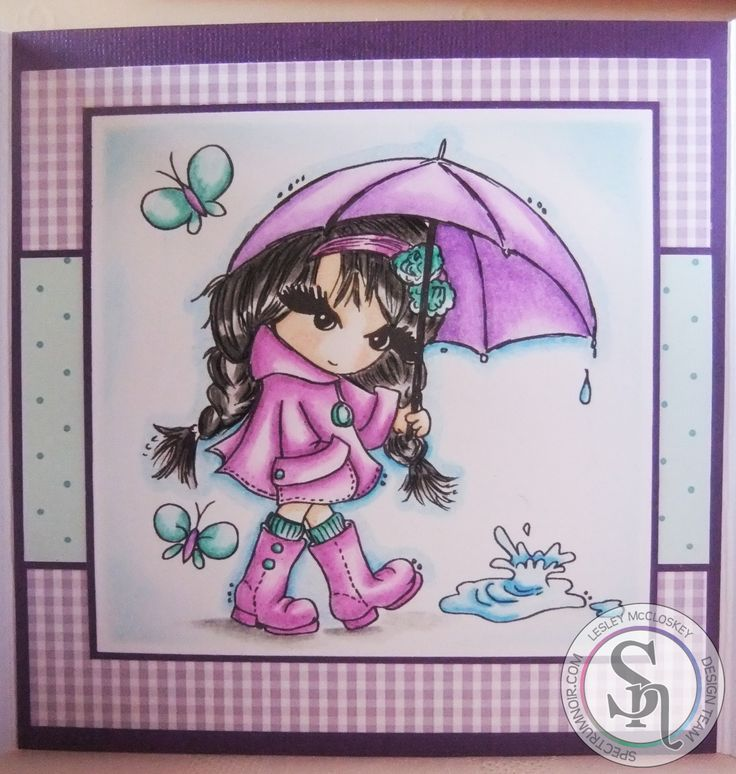 Second card for the Spectrum Noir Tv design team. The stamp is called Rosie which I have coloured with my Spectrum Noir pencils. For more info visit my blog at http://stampingbubbles.blogspot.co.uk/2015/05/rosie.html