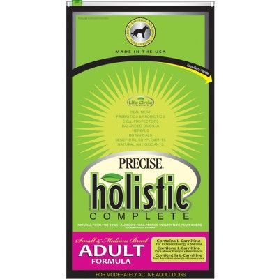 PRECISE DOG DRY - PRECISE HOLISTIC COMPLETE SMALL/MEDIUM BREED DOG - 6 LB - ANF Pet, Inc. - UPC: 72693396302 - DEPT: OTHER PET FOODS
