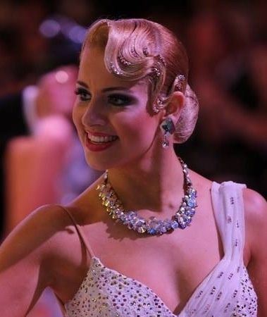 Love this hair!  dancesport hairstyles - Google Search