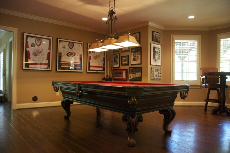 NFL Great Cam Ward Loves His Olhausen Pool Table, Olhausen Seville, Man  Cave,