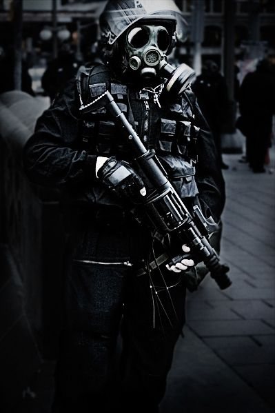British Troop with old SAS mask &AREW 37mm