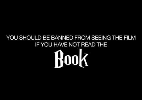 We have to agree #HarryPotterReading, Book Stuff, Libraries Stuff, Harrypotter, Hunger Games, Movie, So True, Book Obsession, Harry Potter Books