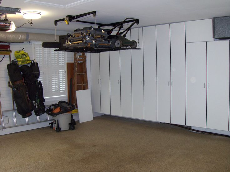 37 Best Ceiling Overhead Storage Ideas Images On Pinterest