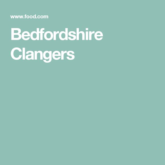 Die besten 25+ Bedfordshire clanger Ideen auf Pinterest ...