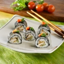 SUSHI AYAM KRIUK http://www.sajiansedap.com/mobile/detail/16810/sushi-ayam-kriuk