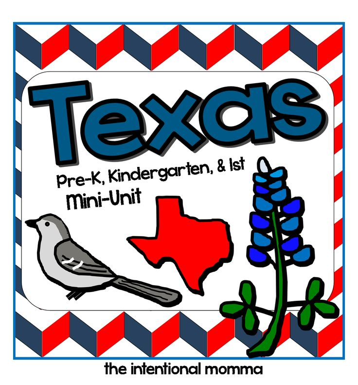 Texas history month printable worksheets and mini-unit, perfect for pre-k, kindergarten, 1st grade, preschool, and homeschool classrooms. Must-have for March!