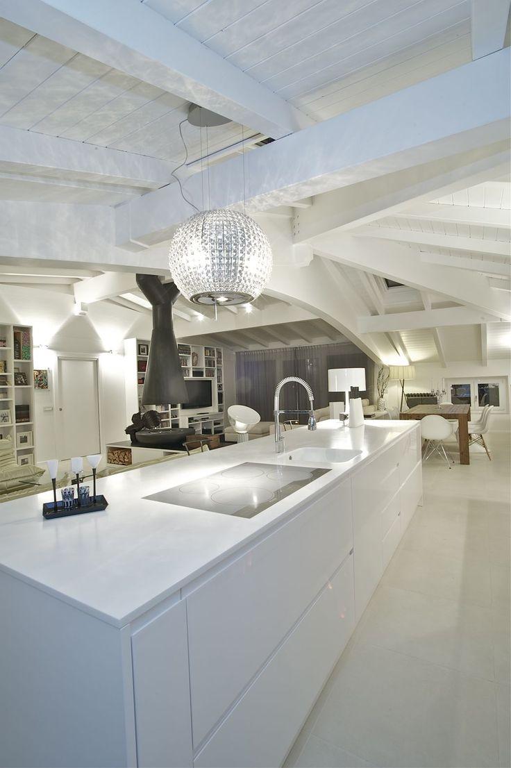 BM ITALIA Arredi & Design: L'illuminazione nella cucina moderna