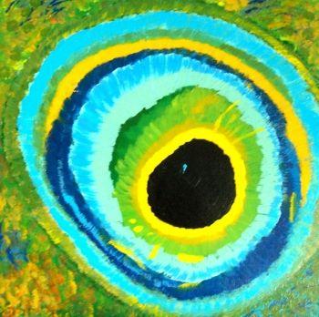 Artist: Spirtova, Sofia  Artwork title: Fish eye
