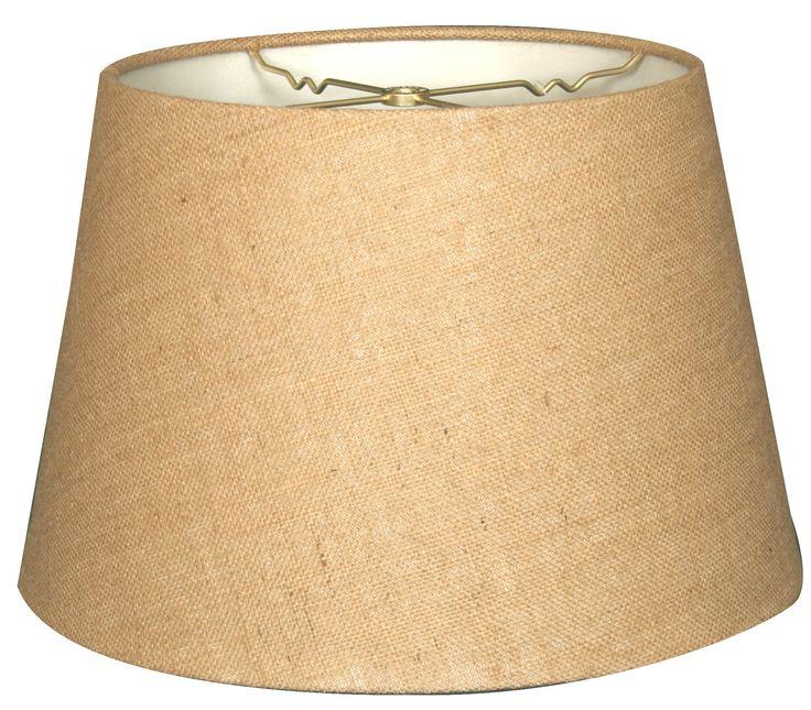"Timeless Tapered 20"" Shantung Empire Lamp Shade Lamp"