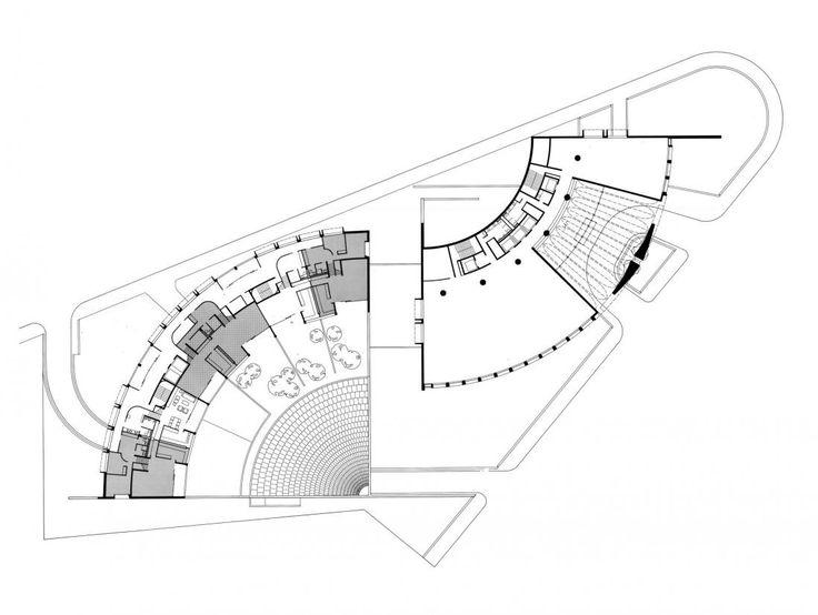 Plans for the Australian Embassy, Paris