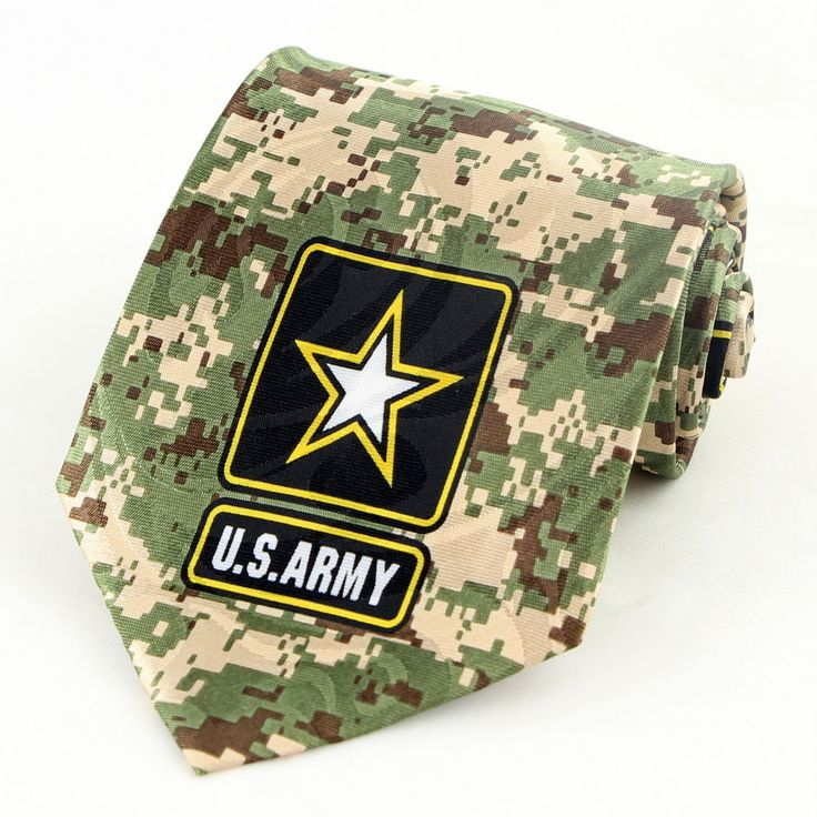 23 best military us armynatl guard images on pinterest us army camo star mens necktie united states camouflage military green tie new c ccuart Choice Image