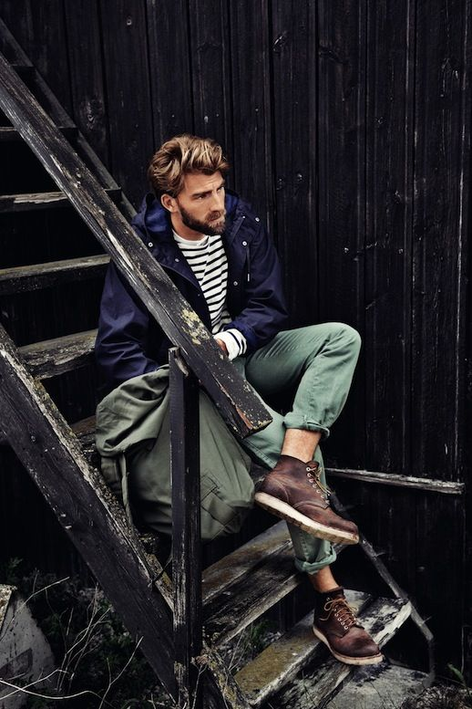 25 Stylish Hot Guys In Stripes -- Green Pants and Red Wing Boots -- Mens Style -- Via Kuchenbaeckerin photo 6-25-Stylish-Hot-Guys-In-Stripes-Green-Pants-Red-Wing-Boots-Mens-Style-Via-Kuchenbaeckerin.jpg