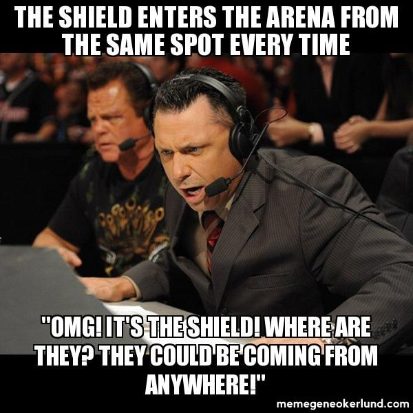 Ohhh Michael Cole... ;) You little dork.   :p