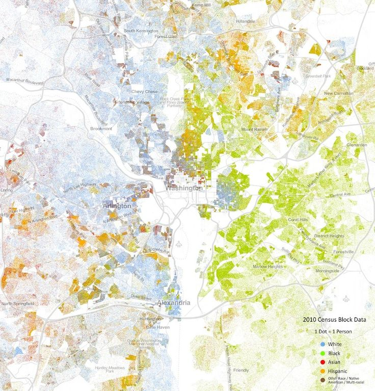 This Is The Most Granular Demographic Map I Ve Ever Seen For The Entire Us