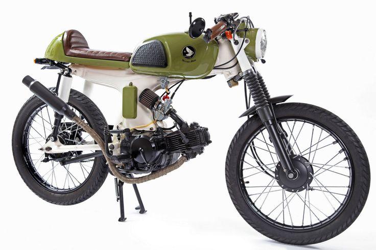 Honda S90 custom motorcycle