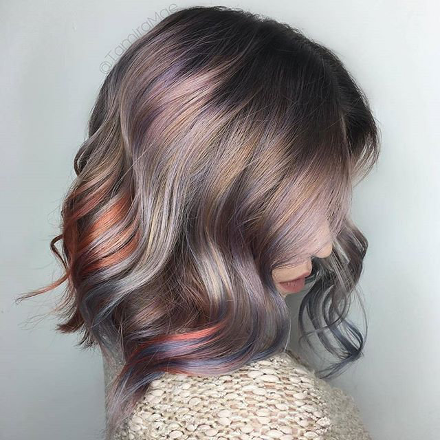 * Metallic Muse ... by @tamiramae at @parlour.eleven Using @joicointensity ❤ #BEHINDTHECHAIR