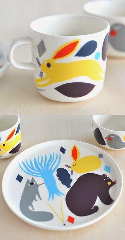 print & pattern: MARIMEKKO - pikku huhuli