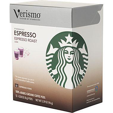 Pods Starbucks Verismo Brewer {Verismo Pods Giveaway   $50 Value!}