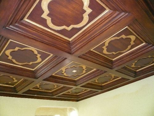 21 best architectural elements for your home images on for Foam coffered ceiling