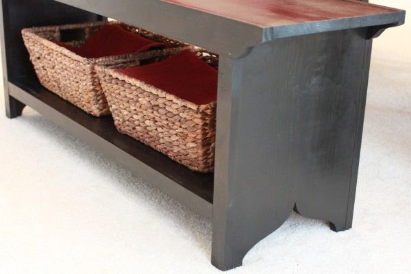 54 best diy drawers hutches cabinets images on pinterest shortened farm house bench from the handbuilt home do it yourself home projects solutioingenieria Images