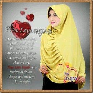 Jilbab Jumbo Terbaru Modern True Love | Kerudung Modern $9 KERUDUNGMODERN.COM